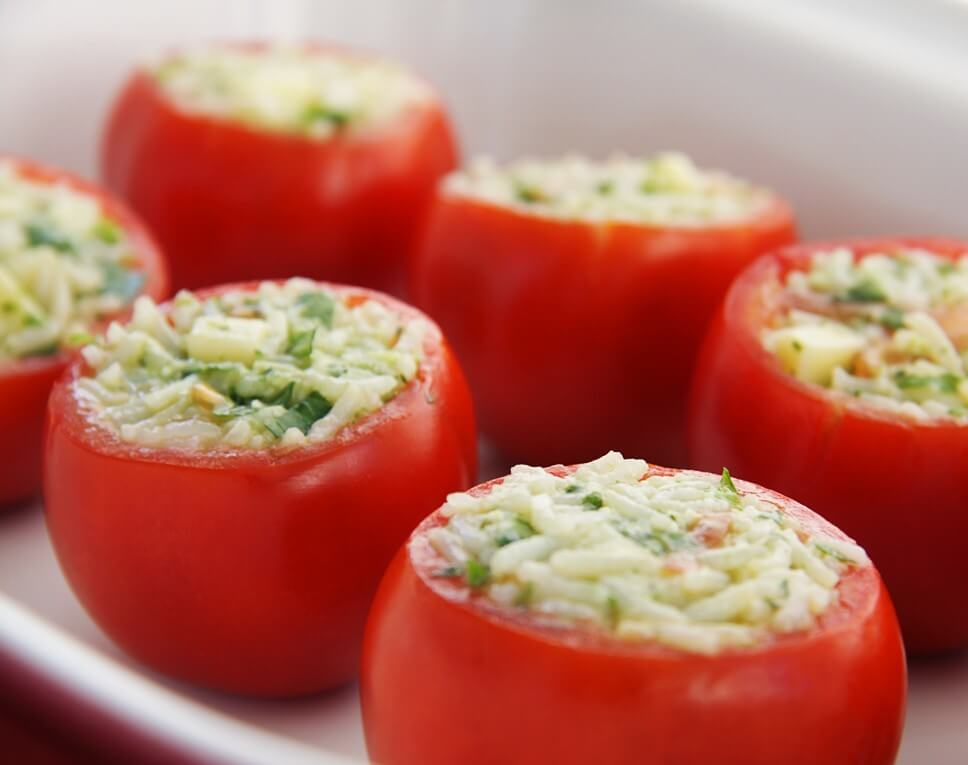 Stuffed Tomatoes with Pesto Sauce Photo 5