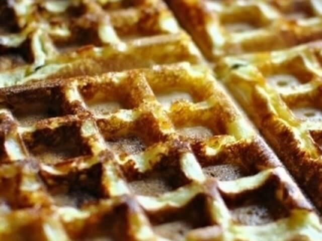 Waffles with Bacon Photo 12