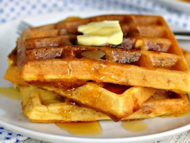 Waffles with Bacon Photo 1
