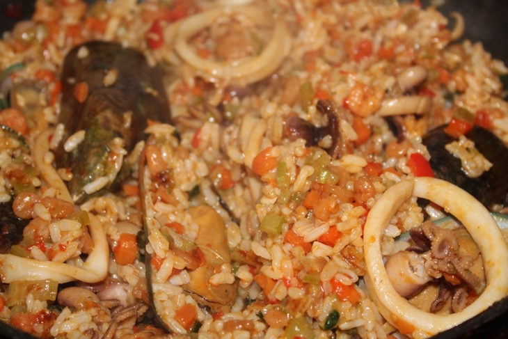 Chinese Fried Rice with Seafood Photo 14