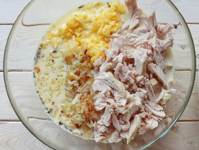 Casserole with Turkey in a Crockpot Photo 7