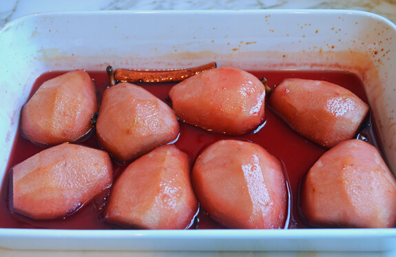 Baked Pears in Spiced Pomegranate Syrup Photo 6