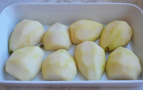 Baked Pears in Spiced Pomegranate Syrup Photo 4