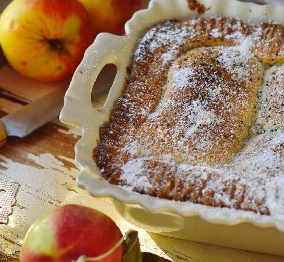 Cottage Cheese Cake with Apples and Prunes Photo 10