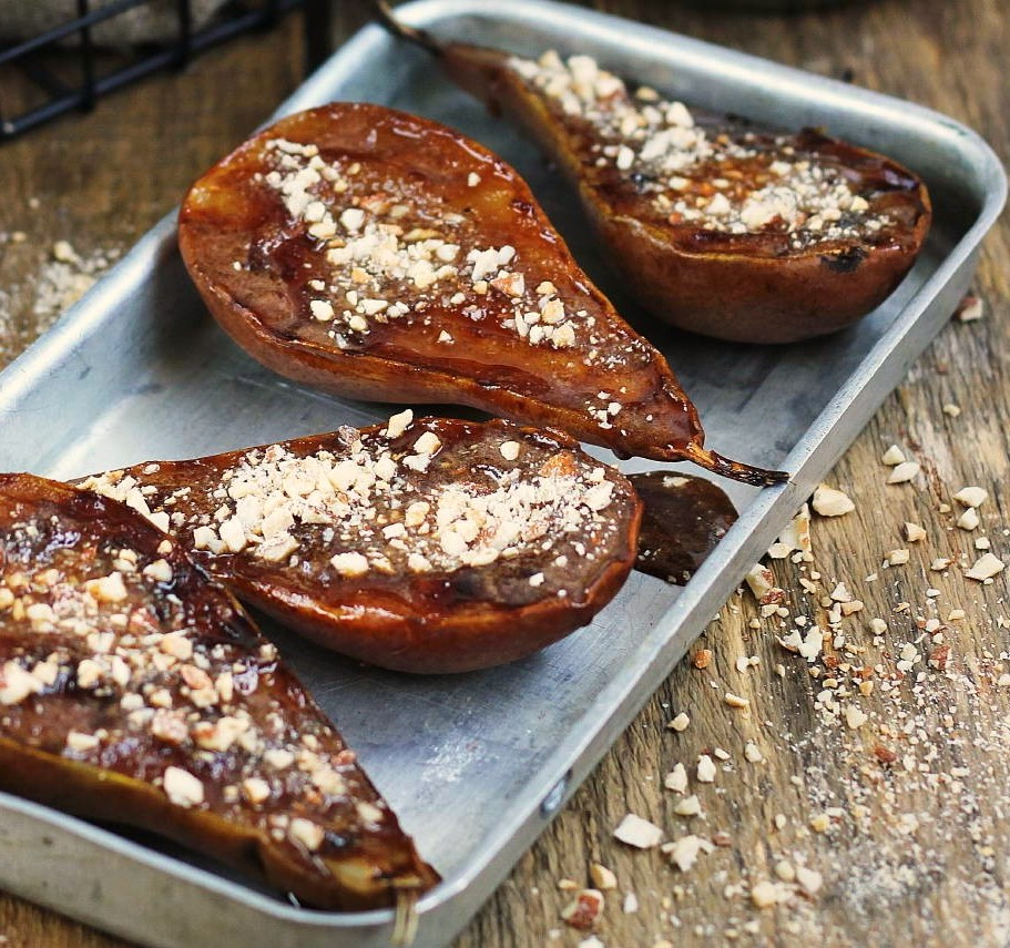 Grilled Honey Pears