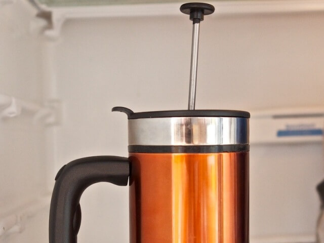 Cold Brew Coffee in a French Press Photo 5