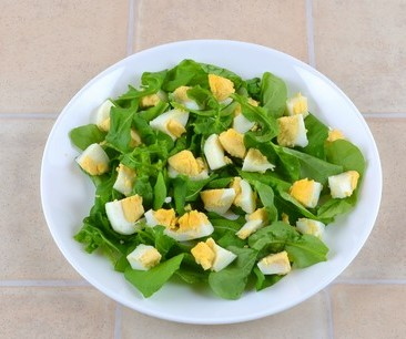 Simple Rocket Salad with Eggs Photo 5