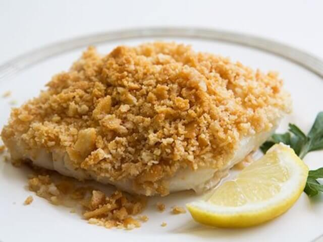 Baked Cod with Ritz Cracker Topping Photo 5