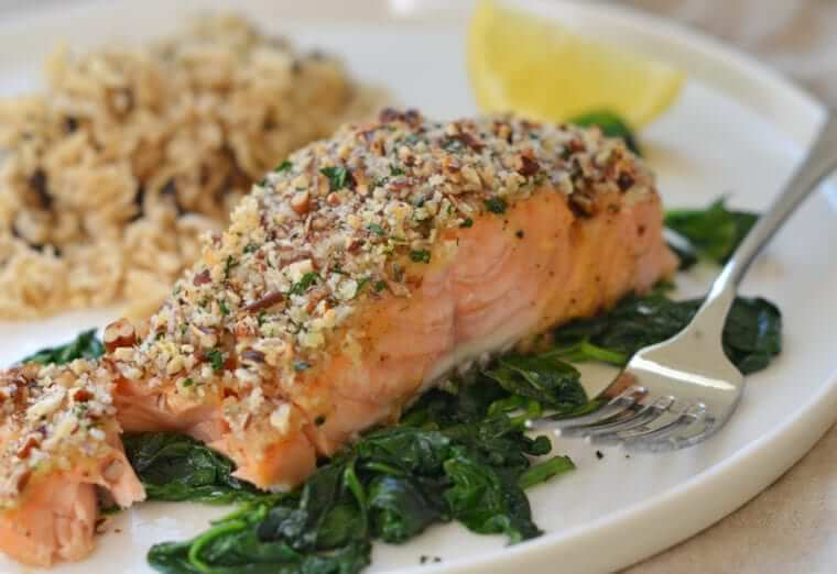 Baked Salmon with Honey Mustard Photo 1