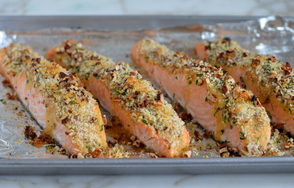 Baked Salmon with Honey Mustard Photo 7