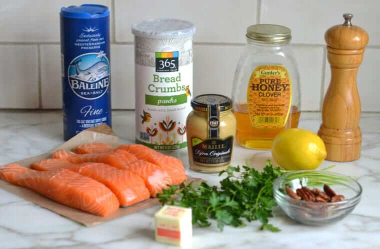 Baked Salmon with Honey Mustard Photo 2