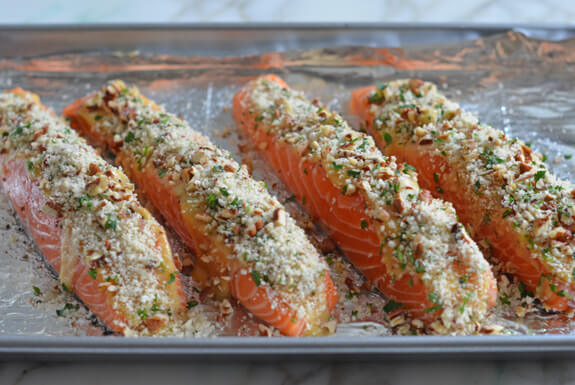 Baked Salmon with Honey Mustard Photo 6