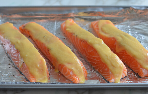 Baked Salmon with Honey Mustard Photo 5