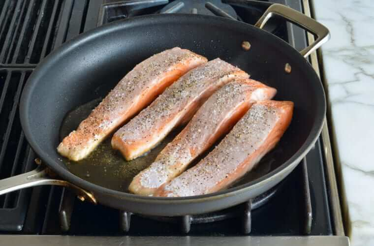 Pan-Seared Salmon Photo 4