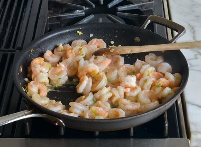 Sweet & Sour Shrimp With Broccoli Photo 8