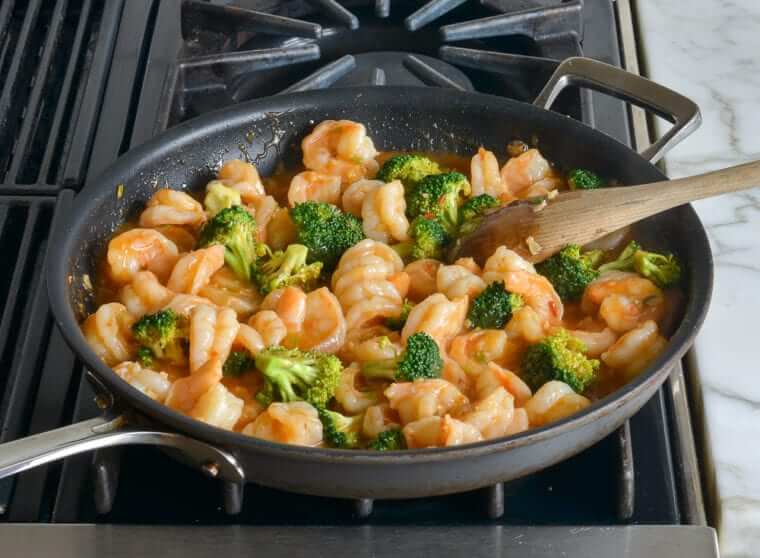 Sweet & Sour Shrimp With Broccoli Photo 10