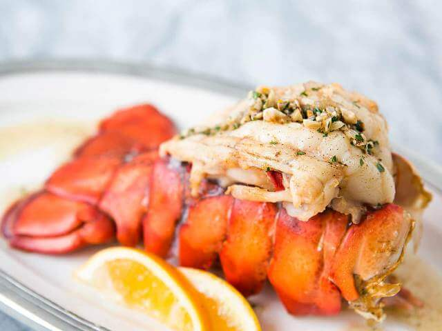 Lobster Tail with Hazelnut Brown Butter Sauce Photo 1