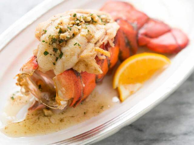 Lobster Tail with Hazelnut Brown Butter Sauce Photo 12