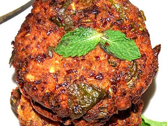 Red Kidney Beans Vada Photo 6