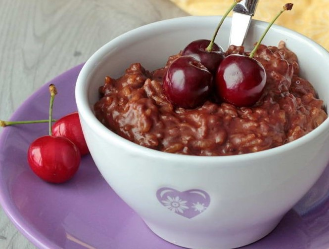 Healthy Breakfast Recipe for Kids - Rice Pudding
