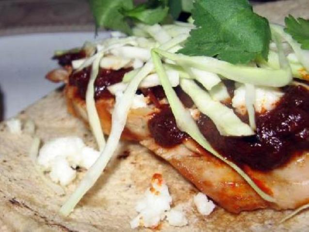 Grilled Turkey Tacos with the Mole Sauce Photo 17