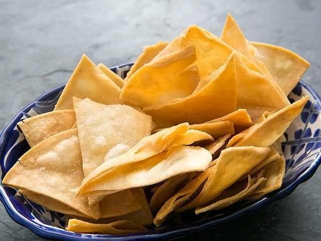 Homemade Tortilla Chips Photo 1