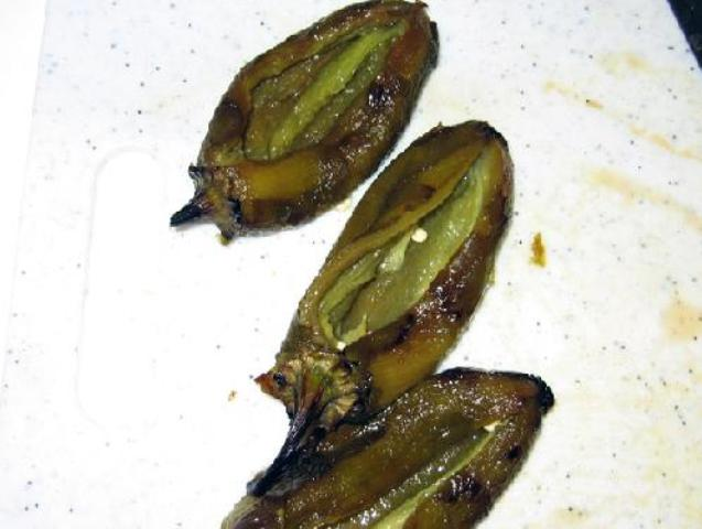 Jalapenos Rellenos with Roasted Chili Salsa Photo 7