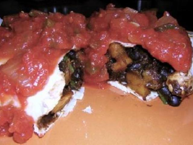 Pumpkin & Black Bean Burritos Photo 1