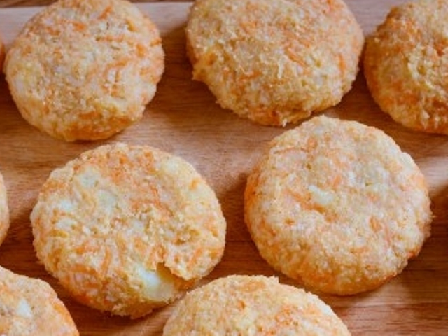 Oat, Potato and Carrot Patties Photo 7