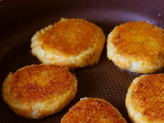 Oat, Potato and Carrot Patties Photo 8