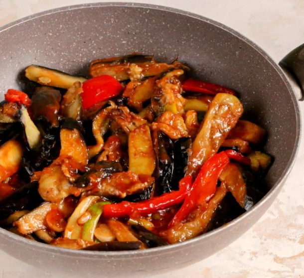 Chinese Eggplant Recipe Photo 6