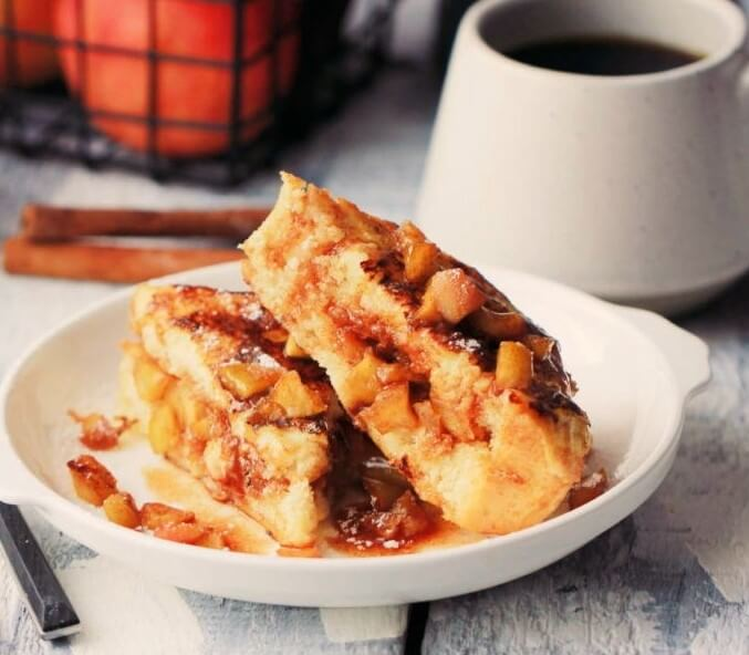 French Toast with Apple Filling Photo 5