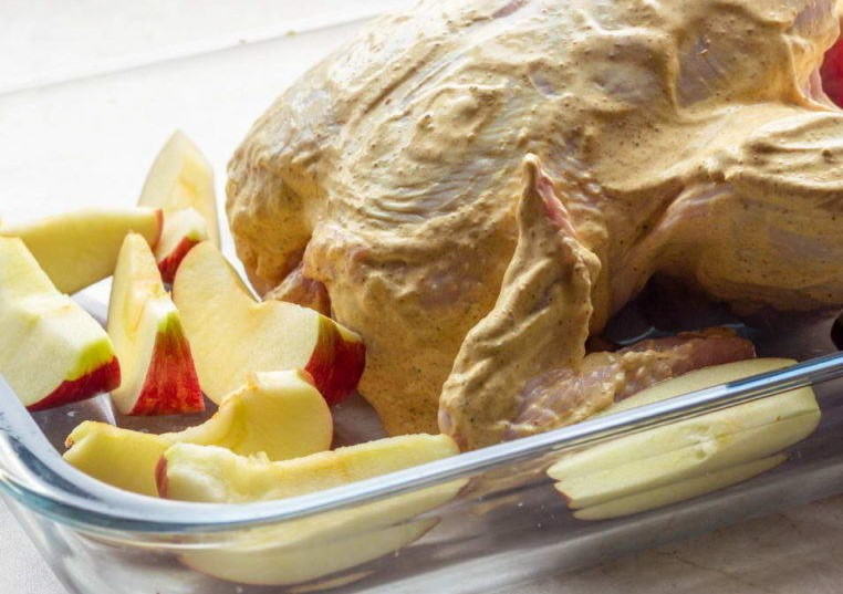 Valentine's Day Dinner Recipe - Chicken with Wine and Dried Fruits Photo 3
