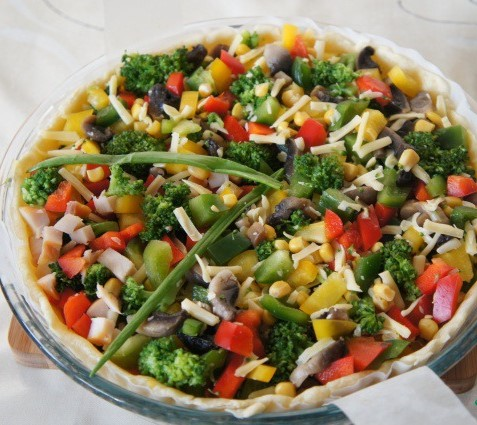 Healthy  Vegetarian Quiche Recipe Photo 9