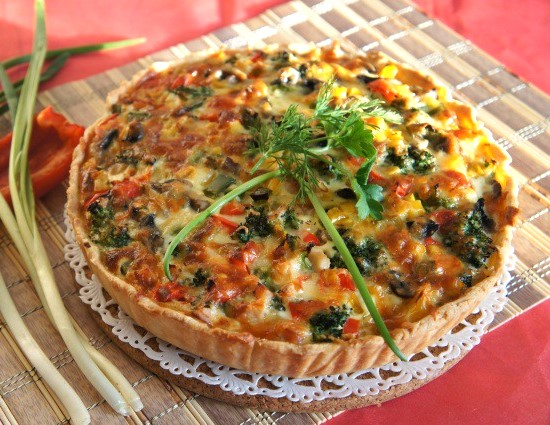 Healthy  Vegetarian Quiche Recipe Photo 12