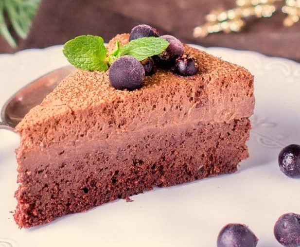Truffle Cake in a Slow Cooker