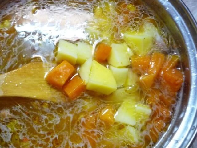 Potato Soup with Pumpkin and Ginger Photo 6