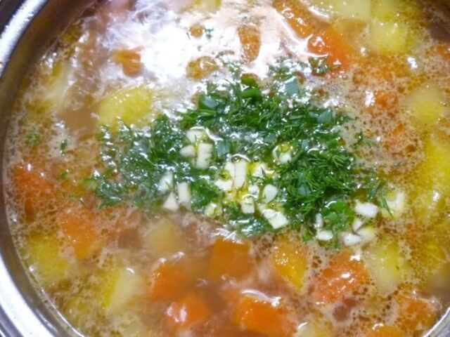 Potato Soup with Pumpkin and Ginger Photo 7
