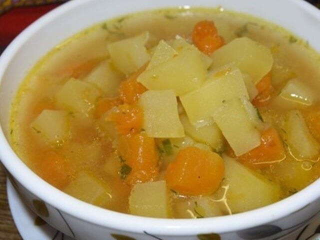Potato Soup with Pumpkin and Ginger Photo 1