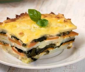Potato Casserole with Spinach