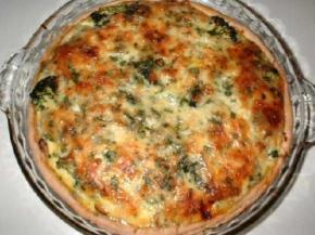 Shrimp, Crab, and Broccoli Quiche