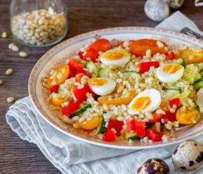 Salad with Bulgur and Vegetables