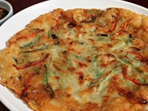 Korean Pancakes with Vegetables