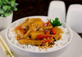 Chinese Style Pork in Sweet and Sour Sauce